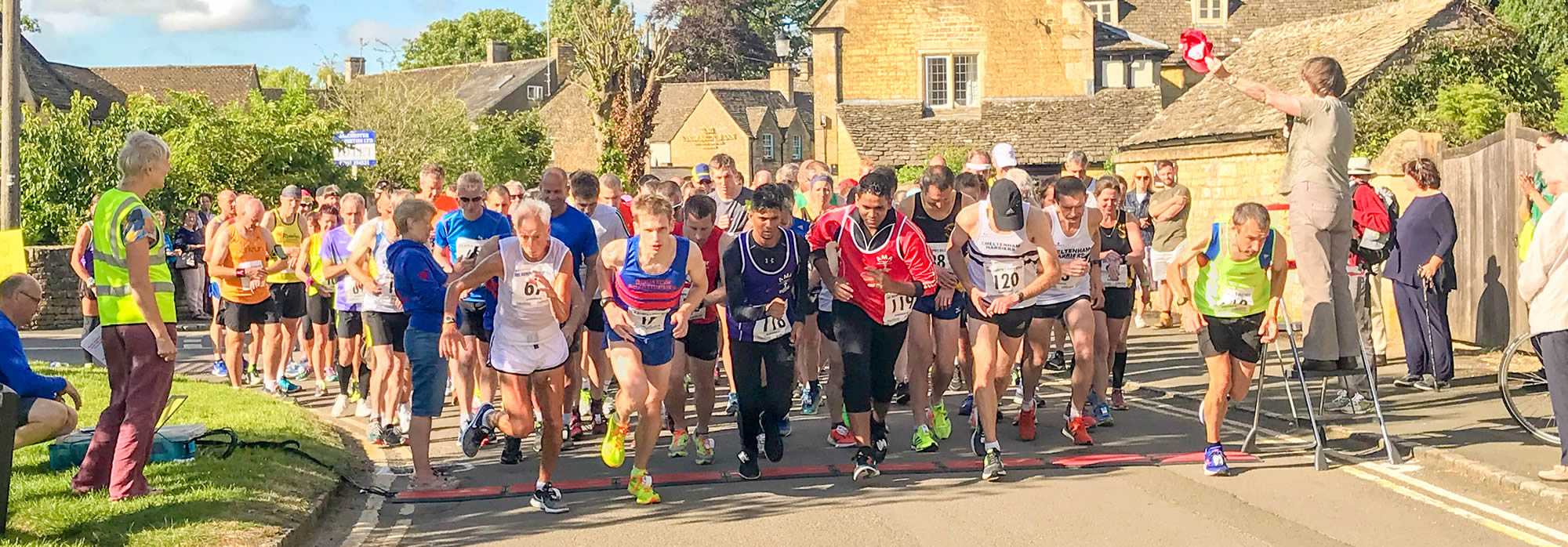 Start of the 2018 Humph's Hilly Half
